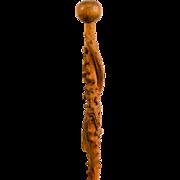 Native American Story Telling Walking Stick