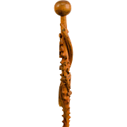 Native American Story Telling Walking Stick