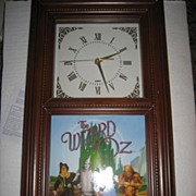SALE Wizard of Oz Limited Edition Clock