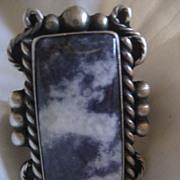 Sterling Silver Purple Garnet Stone Ring
