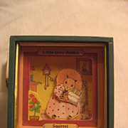 SALE Dancing Rabbit Music Box 'Close To You '
