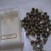 Topaz Rosary November In Box