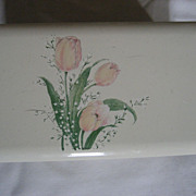 SALE Otagiri Bouquet Lacquerware Music Box