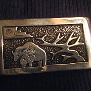SALE Sterling Silver Money Clip