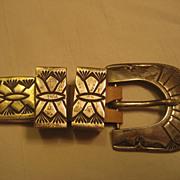Sterling Silver Stamped Ranger Set