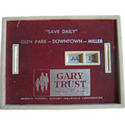 SALE Bank All Coin Calendar Gary Trust