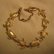 SALE PENDING 14K Turtle Link Bracelet By Kabana