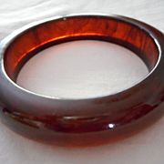 Bakelite Root Beer Vintage Bangle