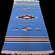 SALE Chimayo Wool Vintage Rug