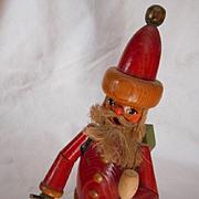 Santa Wooden Incense Smoker