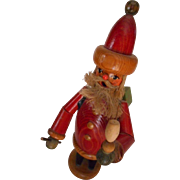 Santa Wooden Incense Smoker