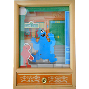 SALE Cookie Monster Dancing Music Box