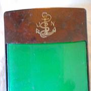 USN Vintage Cigarette Case