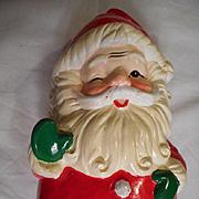 Santa Revolving Musical Ceramic