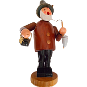 Smoker Night Watchman Erzgebirge Handmade Incense Burner