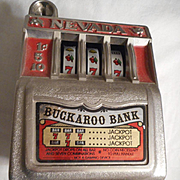 Nevada Buckaroo Slot Machine Vintage Bank