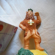 Wizard of Oz Ceramic Lion Music Figurine
