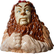 SALE Wizard of Oz Ceramic Lion Bank