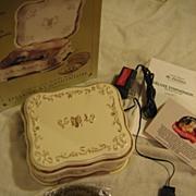 SOLD Mr Christmas Symphonium Porcelain Jewel Box w/ 10 Disks