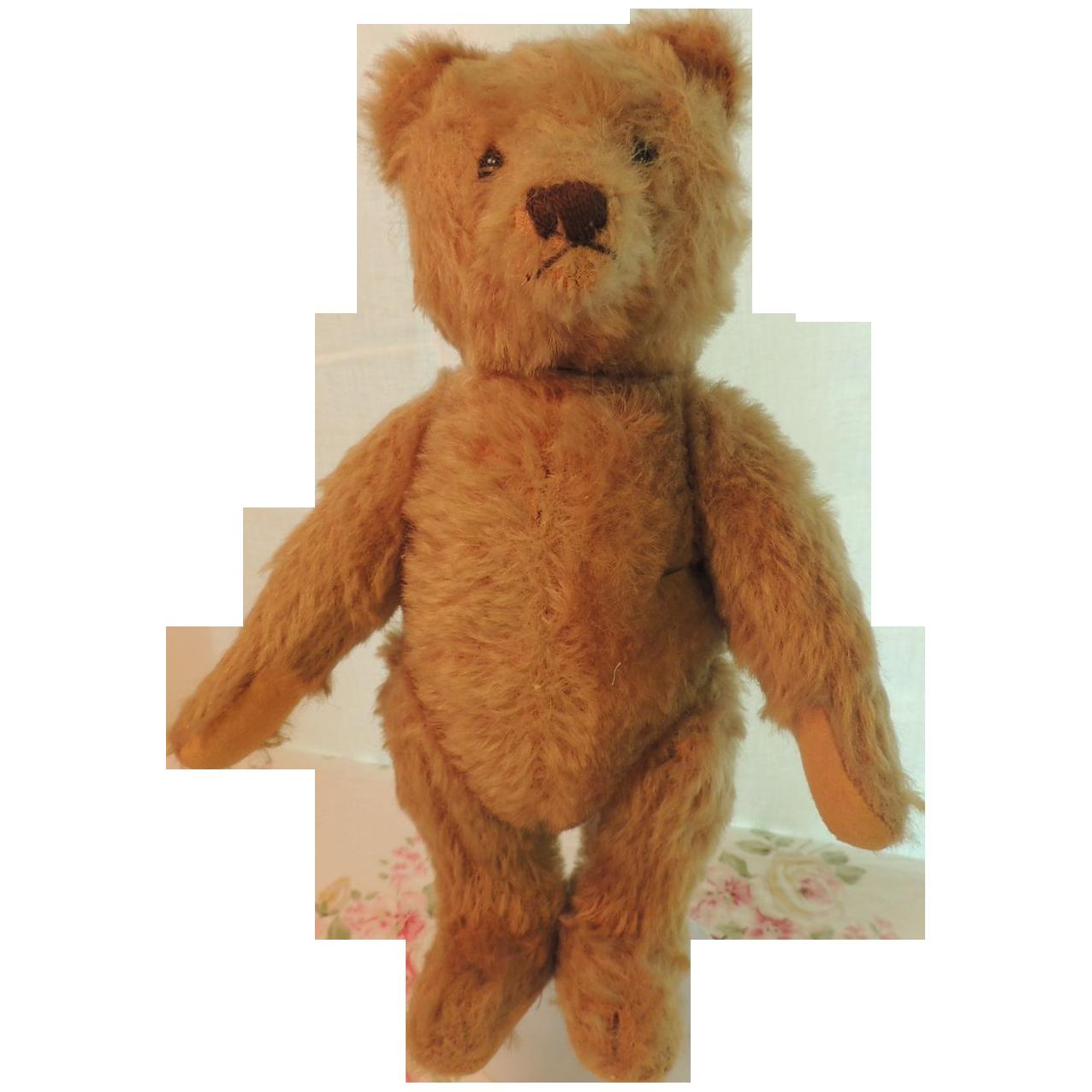 "11 1/2"" Antique Mohair Teddy Bear Jointed"