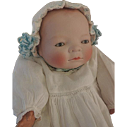 SOLD Bye Lo Baby Antique German Bisque Doll 13 IN