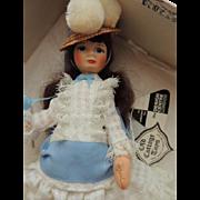Old Cottage Toys Portrait Doll w Original Box, 1960's