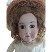 Simon & Halbig / Handwerck 32 IN Antique German Bisque Doll
