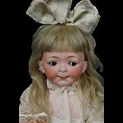 """SOLD Hertel, Schwab & Co. #164 Googly Toddler 14.5"""" Antique German Bisque Doll"""