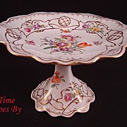 SALE Handpainted Petite Dresden Flower Tazza from Hirsch Studio