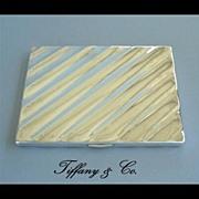 SOLD Vintage Tiffany & Co. 925 Sterling Silver Cigarette Case Wallet Billfold