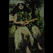 Island Curio Company Honolulu Territory Vintage Post Card