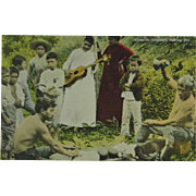 Hawaiian Islanders Making Poi Island Curio Company T. H.