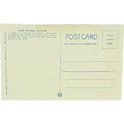Honolulu Paper Company Territory of Hawaii Cane Flume Post Card
