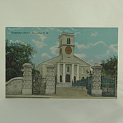 Island Curio Company Kawaiahao Church Honolulu Post Card