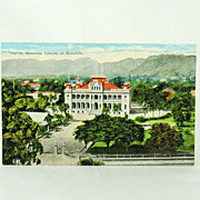 The Island Curio Company Post Card of The Capitol at Honolulu