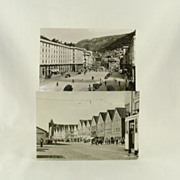 SOLD Mittet European Real Photo Post Cards of Bergen Norway