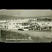 Hotel Montemar Ensenada BC Mexico Real Photo Circa 1956