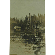 Historic Prince Rupert British Columbia First Pile Driven RPPC