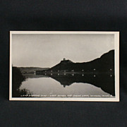 RPPC Lamp Lighting Time Lake Winona and Sugar Loaf 1939