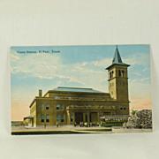 Union Station El Paso Texas Circa 1918