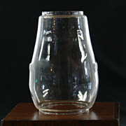 Dietz H6 Fitzall Blizzard Clear Glass Lantern Globe Patented 3-10-14