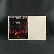 Krupp A. G. Post Card of Essen Panzerwalzwerk Forge Rolling Mill