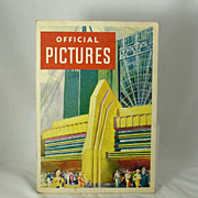 Chicago World's Fair Century of Progress Official Pictures C. 1933
