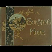 SALE Bunyan's Home by John Brown, D.D. Printed in Bavaria