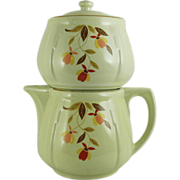 SALE Hall's Autumn Leaf Jordan All China 5 Cup Coffee Pot