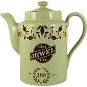 SALE Jewel Tea Hall China Autumn Leaf 100th Anniversary Coffee Pot (Now On Sale)