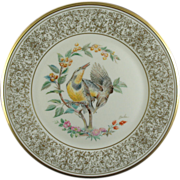 SALE Boehm Birds Lenox Limited Edition Meadowlark Plate (NOW ON SALE)
