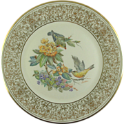 SALE Boehm Goldfinch Lenox Limited Edition Plate 1971 (NOW ON SALE)