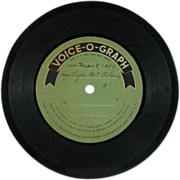 SALE International Mutoscope Voice-O-Phone Vinyl c. 1951 (SALE)