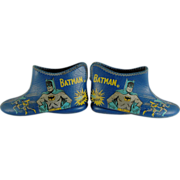SALE Original and Rare 1966 Batman Slippers